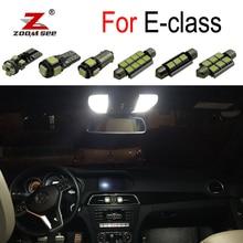 Идеальный Canbus белые светодиодные лампы внутреннего освещения карта купольная лампа для чтения Комплект для Mercedes Benz E W210 W211 W212 S210 S211 S212(1995