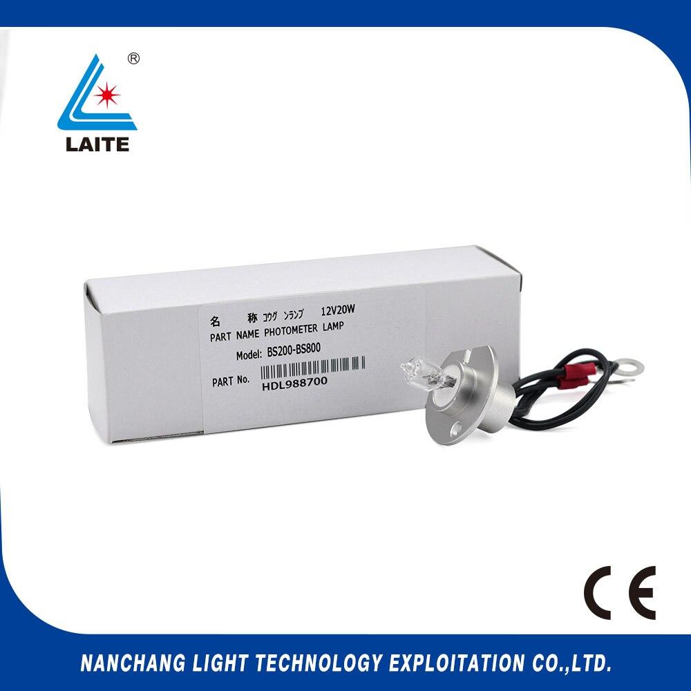 Mindray 12V20W BS-200 220 320 380 400 420 800 820 light bulb free shipping-3pcs mindray ba88 ba90 12v20w biochemistry lamp free shipping 3pcs
