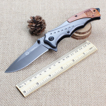 boutique outdoor stainless steel Tactical Knife 440C fieldwork aid kit