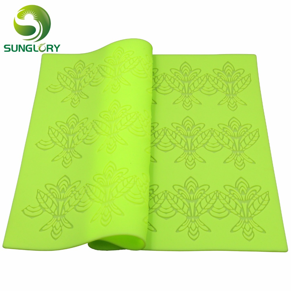 Aliexpress Com Buy Flower Pattern Silicone Lace Mat
