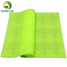 free shipping 1pc hot-selling rectangle 100% foodgrade silicone baking mat,cake decorating mats