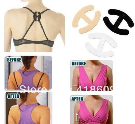 20 X Bra Strap Clip/Concealer cleavage control  quality durable 3 colours