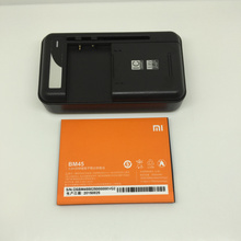Big Discount! for xiaomi Redmi Note 2 Battery + Charger Dock BM45 3020mAh  New Replacement For Redmi Note2 Mobile Phone