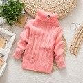 2017 New Autumn/Winter Children Sweater Children Turtleneck Baby Boy/Girl Sweater Clothing Vestidos