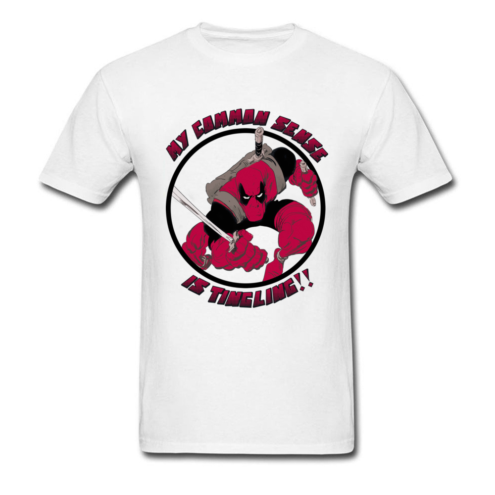 Cheapest Nice White Deadpool T-Shirt Men Funny Gorillaz Cool Awesome Personalized T Shirt Customized Make Own Shirt Lgbt