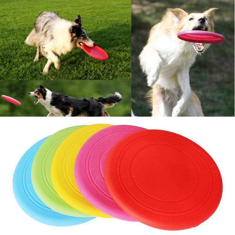 Dog Training jumper Fantastic tooth Pet Dog Flying Disc rubber large Tooth Resistant Training Toy Play Tide dog chew toy game