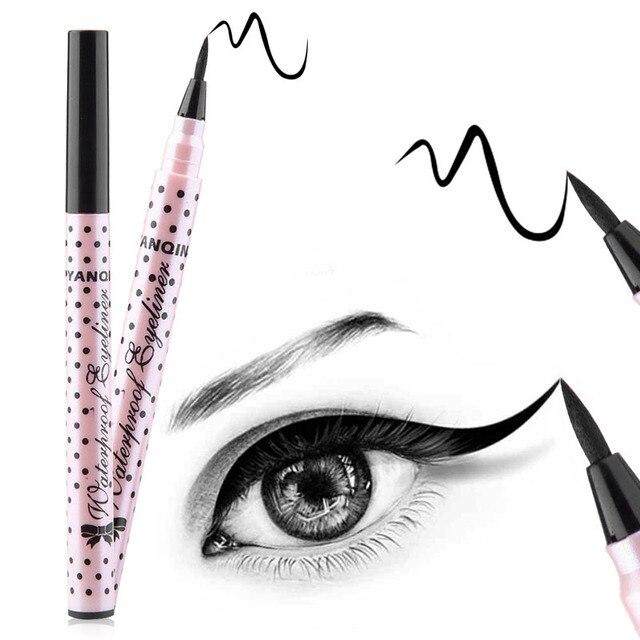 Водонепроницаемый черный карандаш для глаз Liquid Eye Liner Pencil Ручка макияж высокое качество comestics Прямая доставка косметический 3 стиля выбрать