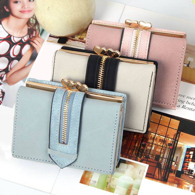 Women Wallet Purse Short Design PU Leather Fashion Durable for Money Coins ID Card New(China)