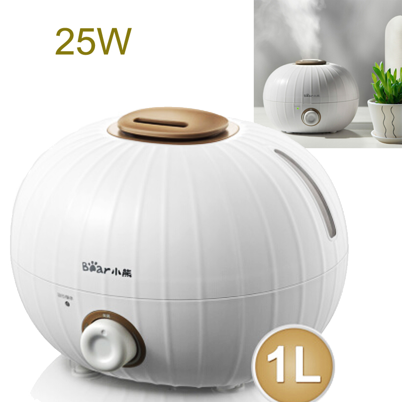 15%JA94 Mini Pumpkin Shape Air Humidifiers 1L 25W Mute Essential Aromatherapy Diffusers Mist Maker With Antibacterial Water Tank