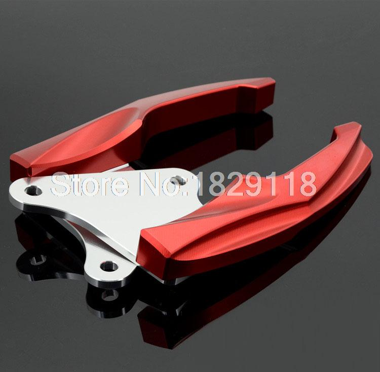RPMMOTOR CNC Aluminum Motorcycle Rear Grab Bars Rear Seat Passenger Grab Rail Handle For Honda Grom 125 MSX125 M3 2014-2015