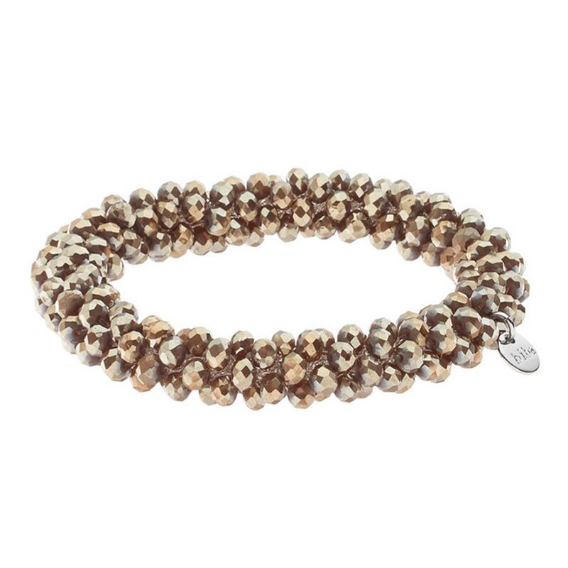 Dongmu jewellery new 2017 Baroque style hand-woven exquisite crystal ladies fashion bracelet boutique jewelry birthday gift