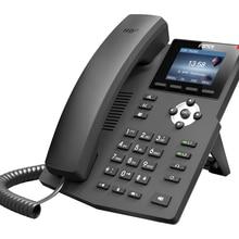 Fanvil X3S IP телефон SOHOIP телефон промышленности телефон 2 SIP линии HD голосовой POE с поддержкой наушников Smart Deskphone