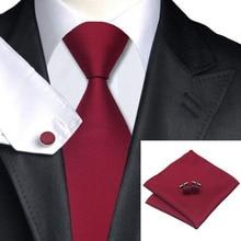 Woven Silk Necktie HandMade Mens Tie Cufflinks and Handkerch