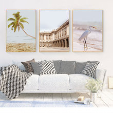Scandinavian Poster Wall Art Landscape Posters And Prints Beach Canvas Nordic Decoration Home Decor Unframed