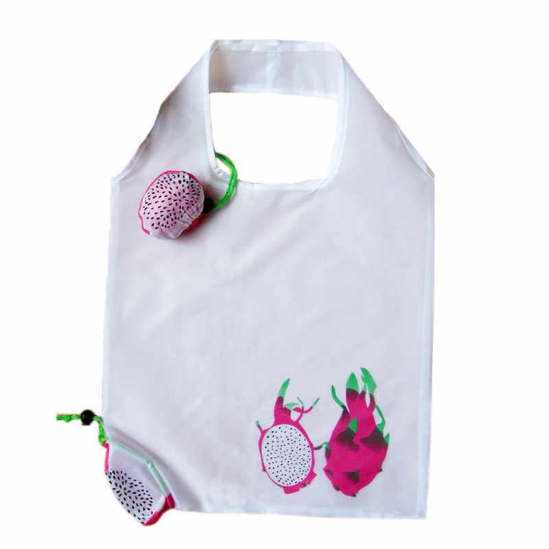 Novo Tipo Bonito Viagem Bolsa Dobrável Sacola Reutilizável Sacos de Compras De Animais De Armazenamento de Supermercado Eco Sacola de Compras Sacola Saco
