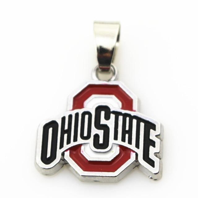 10pcslot ohio state necklace pendant jewelry with snake chain45 10pcslot ohio state necklace pendant jewelry with snake chain455cm aloadofball Image collections
