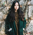[XITAO] 2016 winter green forest style women long coat vintage fashion female solid color original single button blend SGO003