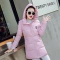 2017 Women Winter Parkas New Female Casual Long Plus Size Coat Thickening Warm Cotton Women's Jacket for Women Winter Outwear