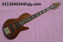 2016 kostenloser versand fünf string bass schmetterling klar farbe tiger palisander furnier klavier körper gitarre China