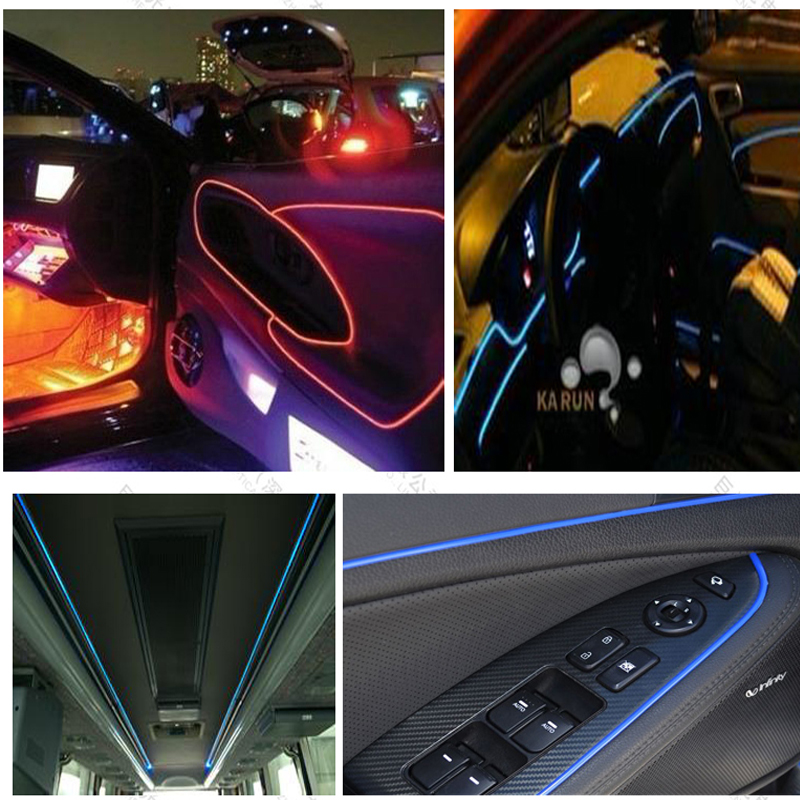 Led Per Auto Interni.Us 2 28 Car Led Light Source Engine For Car Interior Fiber Optic Lighting Cinema Steps Decoration 12v In Optic Fiber Lights From Lights Lighting