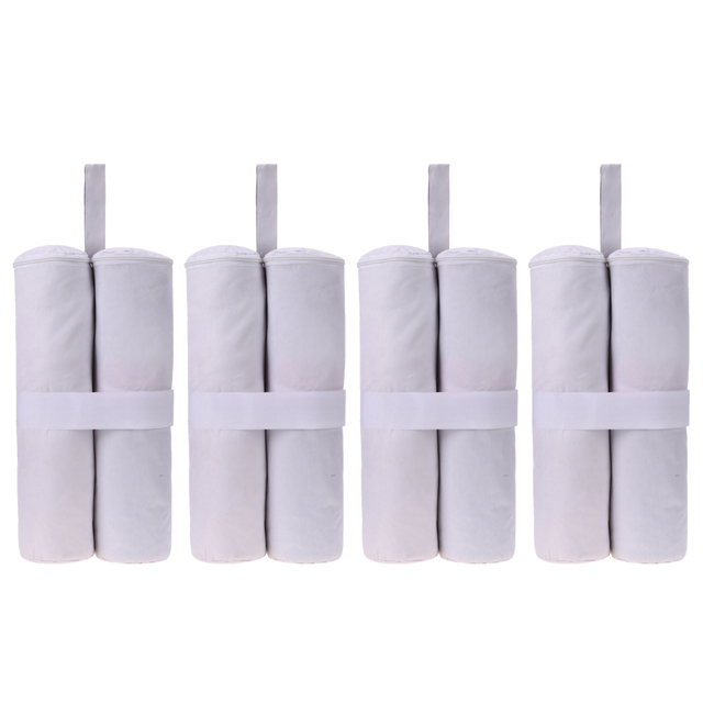4Pcs White Leg Weights Bag For Pop up Canopy Tent Shelter Weight Feet Sand Bags Camera  sc 1 st  AliExpress.com & 4Pcs White Leg Weights Bag For Pop up Canopy Tent Shelter Weight ...