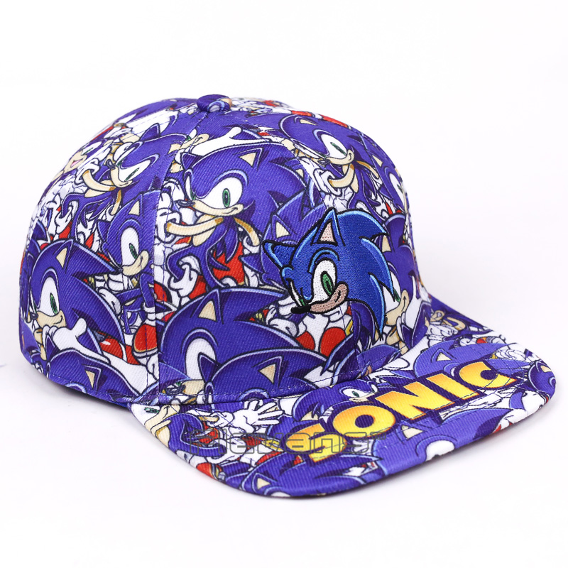 Caeroon Fashion Brand Snapback Caps Hat Sonic The Hedgehog ... e77f79e0f422