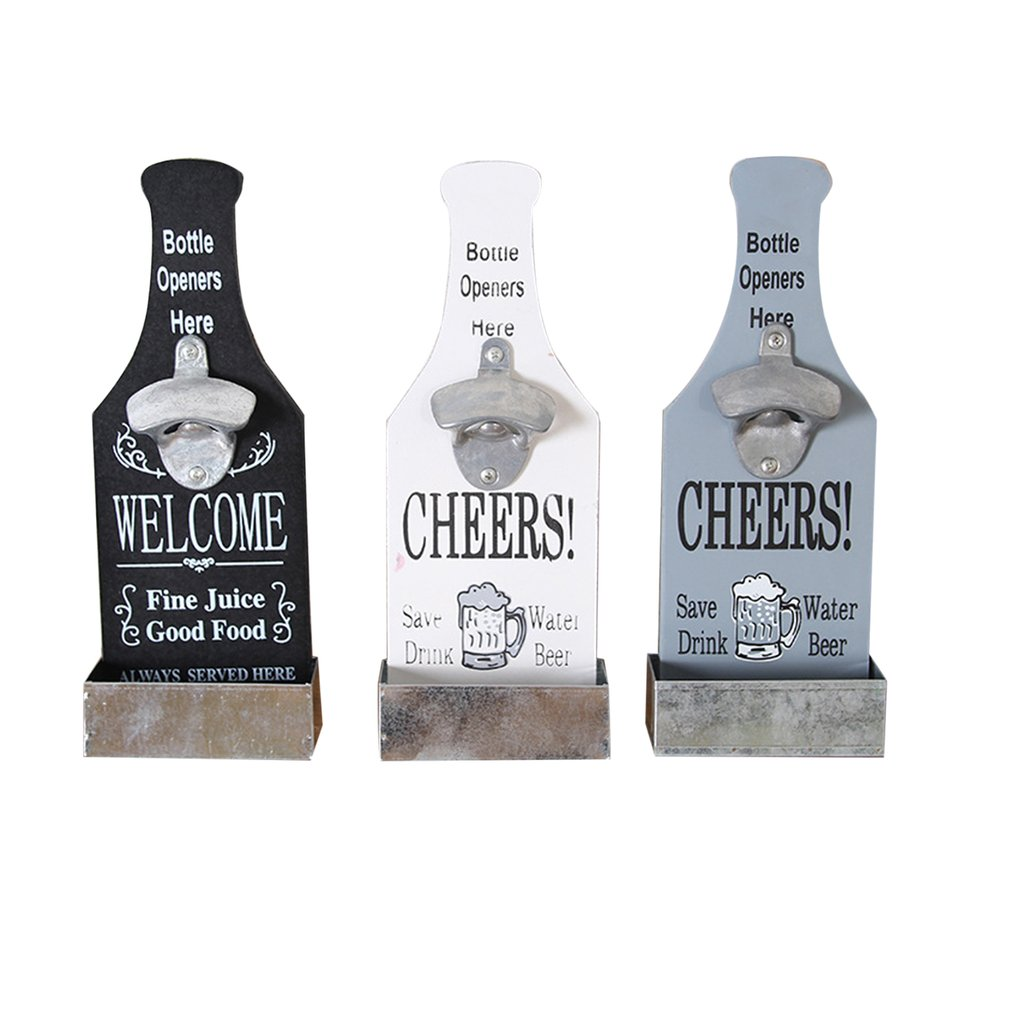 Clever Beer Bottle Opener Wall Decoration Practical Coffee Shop Bar Barbecue Hot Pot Restaurant Pendant Wall Decoration