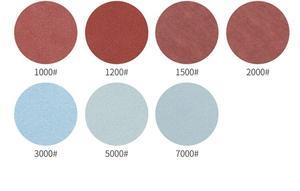 Image 4 - 30ps 125mm /5 Inches Grit 1000 /1500 /2000 /3000/ 5000/ 7000 Sanding Discs Hook Loop Sandpaper Round Sandpaper Disk Sand Sheet
