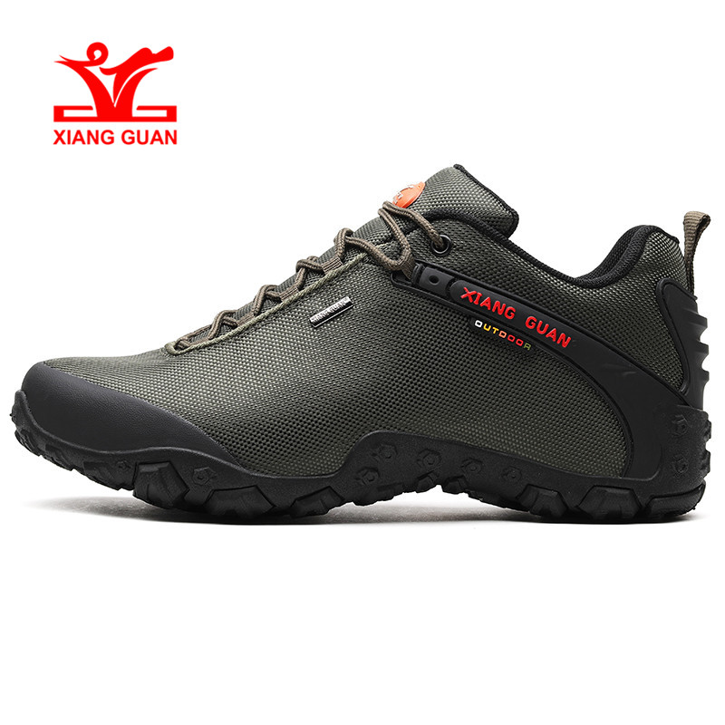 Xiang Guan Windproof Style Outdoor Climbing Sneakers Unisex Comfortable Green Soft Sport shoes Fast Delivery