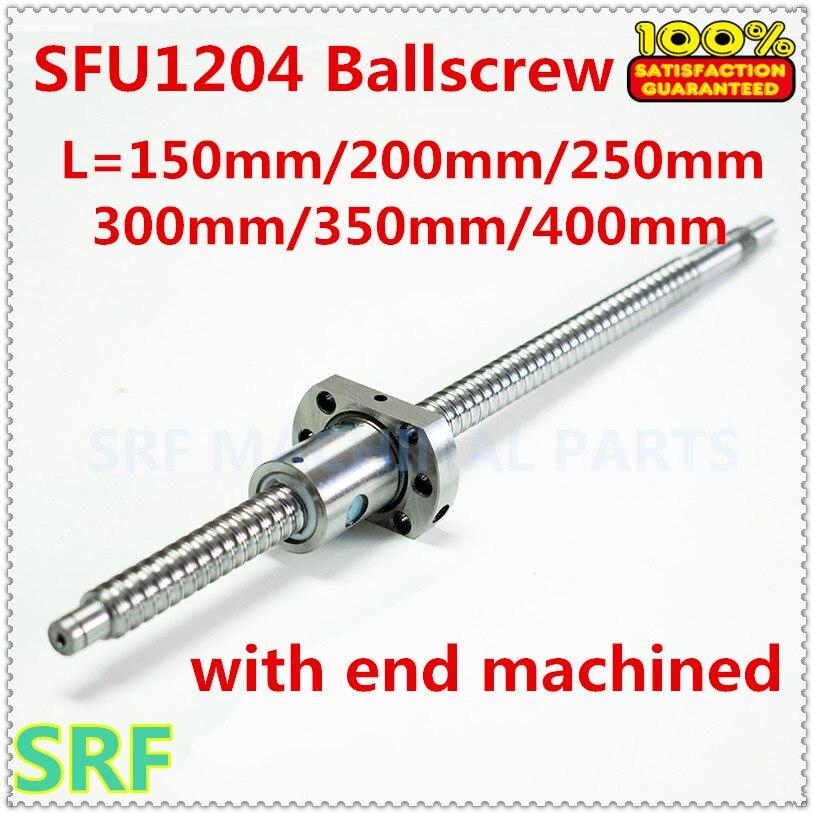 BK//BF10 SFU1204 Set Blei Schraube Kugelgewinde Kugel 1204-800-C7