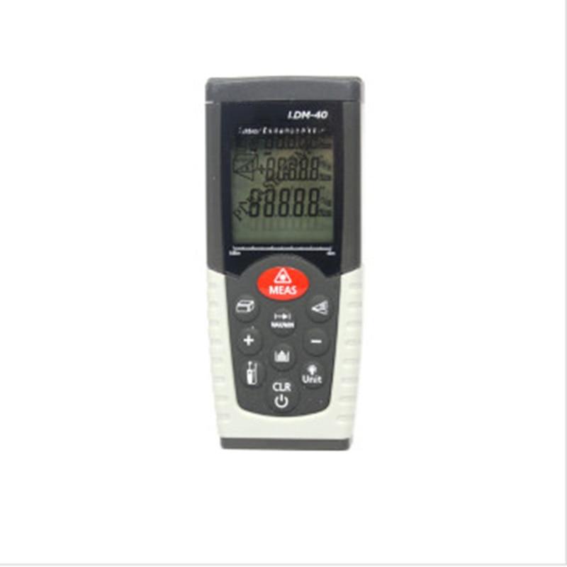 laser distance meter laser rangefinder distance measurer 40m laser meter lcd ultrasonic distance meter measurer tool laser pointer designator backlight rangefinder