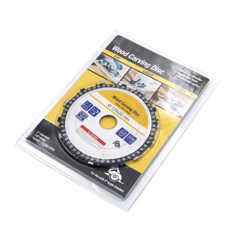 Heimwerker Einfach 5 Zoll 14 Zahn Grinder Kettensäge Disc Für Schneiden Holz Sägeblatt Kette Rund 125*22mm Hardware