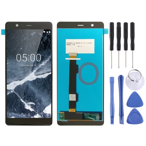 LCD Screen and Digitizer Full Assembly for Nokia 5.1 <font><b>TA</b></font> 1024 1027 1044 <font><b>1053</b></font> 1008 1030 1109(Black) image