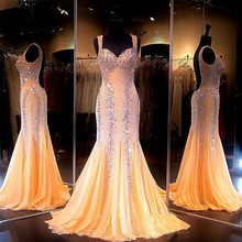 Mermaid Prom Dresses 2018 Gorgeous Coral Sweetheart Luxury C