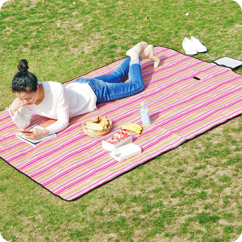 150x200 cm imperméable à l'eau pliable en plein air Camping pique-nique tapis bébé escalade couverture maison étage bébé ramper tapis enfants jouer tapis