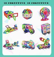 радость Mag мини магнит конструктор должен истинный цвет здания блоки строительного кирпича подарок на день рождения 42/78/102 шт