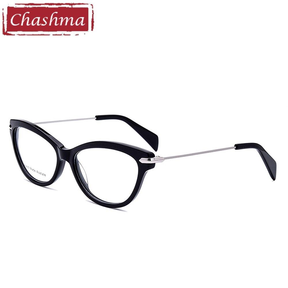 Chashma Marke Top Qualität Acetat Brille Frauen Katzenauge Stilvolle ...