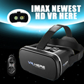 Newest Removable Cleaning VR BOX II 2.0 Google Cardboard IMAX 3D Glasses+Bluetooth Gamepad Environmental Comfortable Materials