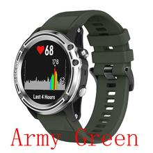 22MM Quick Release Silicone Strap for Forerunner 935 Fenix 5 5X Plus For Garmin Instinct Watch Watchband