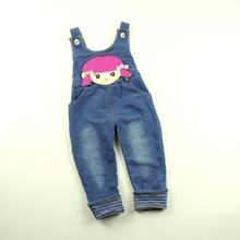 Infant Toddler Baby Girls Denim Overalls Jeans Rompers Dot Print Baby Girls Clothes