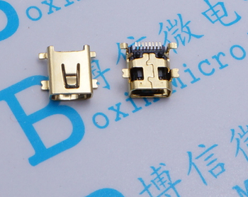80pcs 8P sticking to the end of play MP3 accessories MP4 accessories charging port SMD 8P