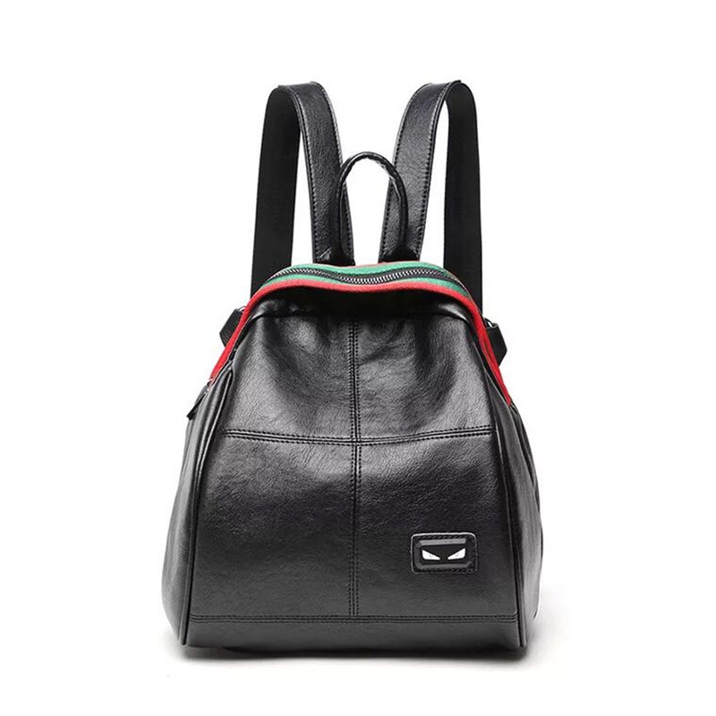 New Fashion Design Women Backpack High Quality Youth Leather Backpacks for Teenage Girls Female School Shoulder Bag Bagpack E137