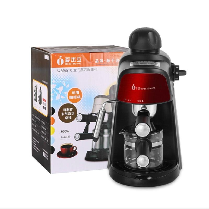 CM6810 Semiautomatic Italian American Coffee machine 3.5 Pa Pump pressure Family expenses steam Foam fight Commercial rice cooker parts steam pressure release valve