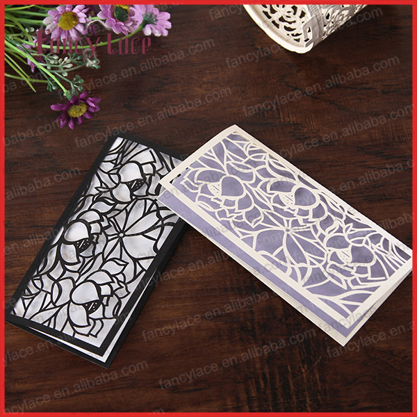 24eb05fa0b Mouse over to zoom in. Fancylace Wholesale Customized Paper Laser Cut High  Quality Chinese Lotus Leaves Wedding ...