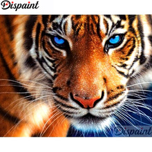 Dispaint Full Square/Round Drill 5D DIY Diamond Painting Animal tiger scenery3D Embroidery Cross Stitch Home Decor Gift A11387 dispaint full square round drill 5d diy diamond painting animal tiger sceneryembroidery cross stitch 3d home decor gift a11463