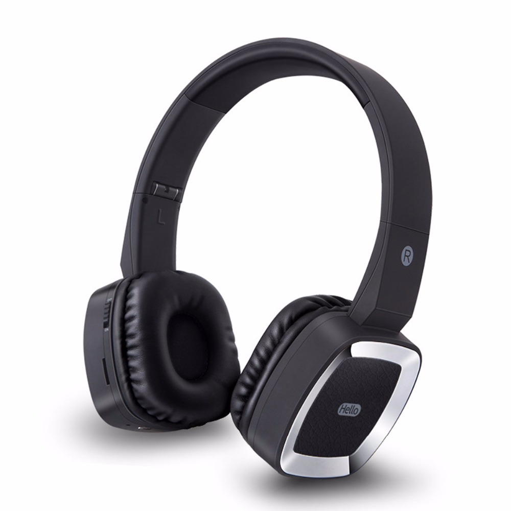 Bluetooth Headphones Wireless Headset Stereo Bass Sound HIFI Noise Cancelling Sweatproof Headphone With Mic Support TF Card wireless bluetooth headphone hifi deep bass stereo earphone noise cancelling headset with mic support tf card