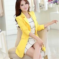 The New Spring Autumn Women High Qulity fashion Blazer Women Slim Long Sleeve Female Suit Coat Outerwear T829