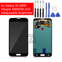For Samsung Galaxy S5 G900 LCD Display Touch Screen Digitizer LCD Display for Galaxy S5 i9600 SM G900F G900F G900M Repair Parts