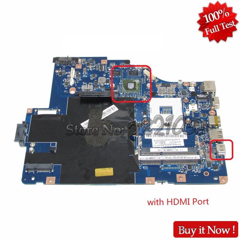 NOKOTION Carte Principale Pour Lenovo G560 Z560 NIWE2 LA-5752P Rev: 1.0 Mère D'ordinateur Portable avec GT310M Vidéo Carte DDR3