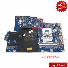 Nokotion placa principal para Lenovo G560 Z560 NIWE2 LA-5752P Rev: 1.0 laptop motherboard con GT310M tarjeta de vídeo DDR3